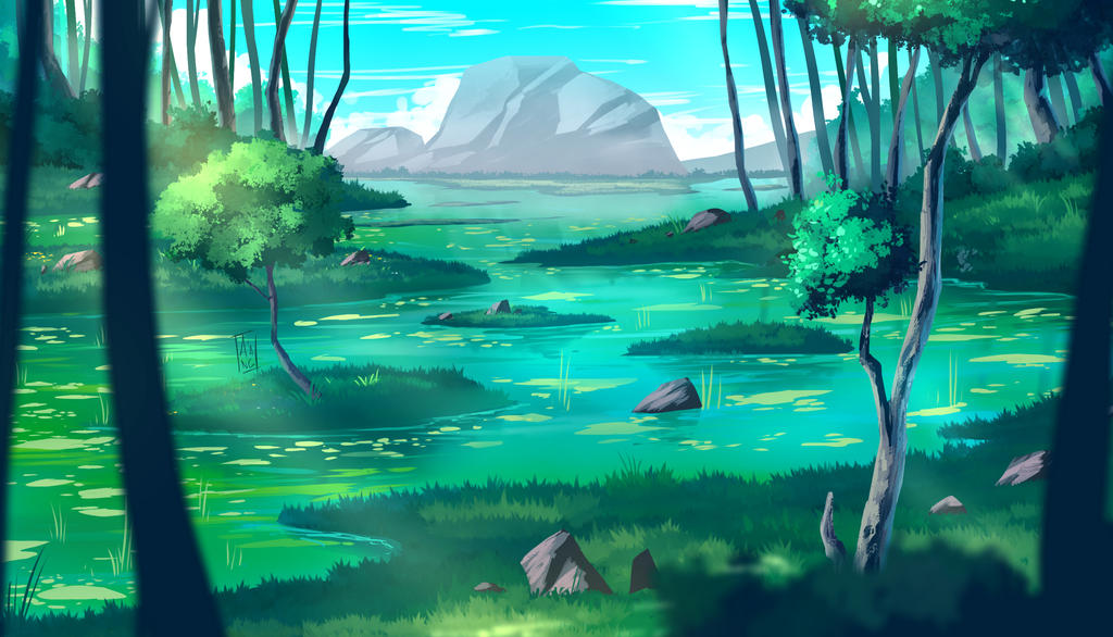 Elos Forest Clearing by DaisukeOzora