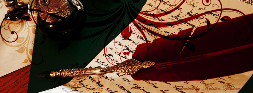 The Writer Facebook Cover by CrystalKittyCat