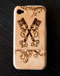 Victorian Keys iPhone 4/s Wood Case