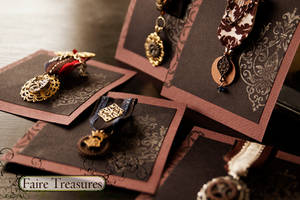 Faire Treasures Steampunk Medals by CrystalKittyCat