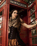 Steampunk Phonebooth