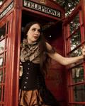 Steampunk Phonebooth
