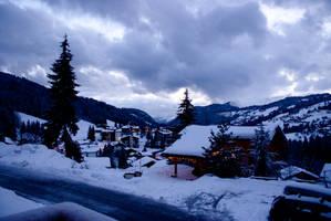 Winter Village by WhiteMarble