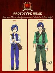 AoH: Prototype Meme (Minoru) by pencilhigh