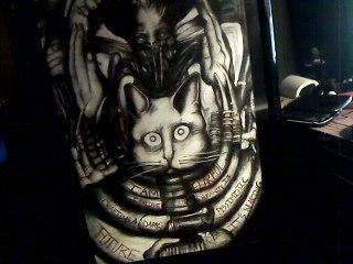 H.R. Giger Behemoth Tribute by PatsyofString