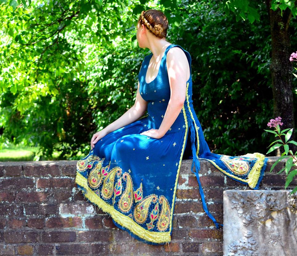 OOAK Bohemian Tunic. Gypsy Surcoat. Fairy Dress. by HandiCraftKate