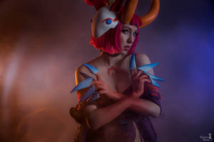 Blood moon Evelynn by SmirkoO