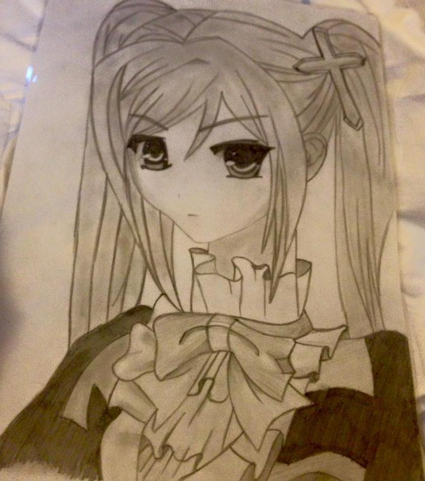 Anime Girl - Royal by Cerise-M