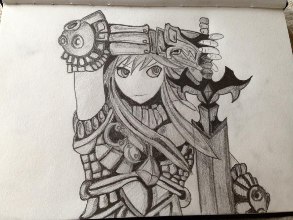 Fantasy Anime Girl by Cerise-M