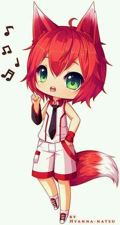Fox Chibi by Cerise-M