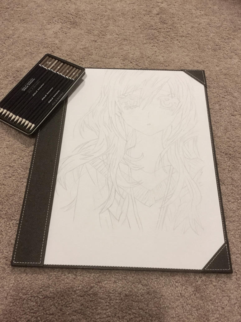 Start of my new drawing :) by Cerise-M