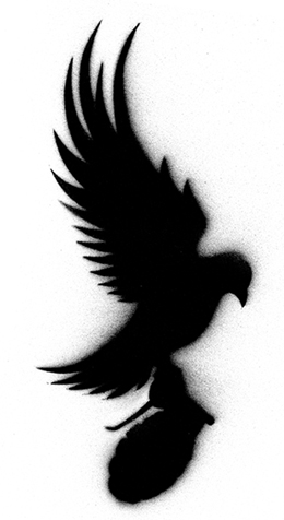 Hollywood undead dove and grenade wallpaper dove gernade by