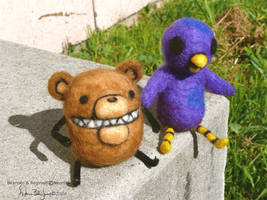 Beartato and Reginald
