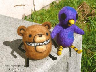 Beartato and Reginald by FamiliarOddlings