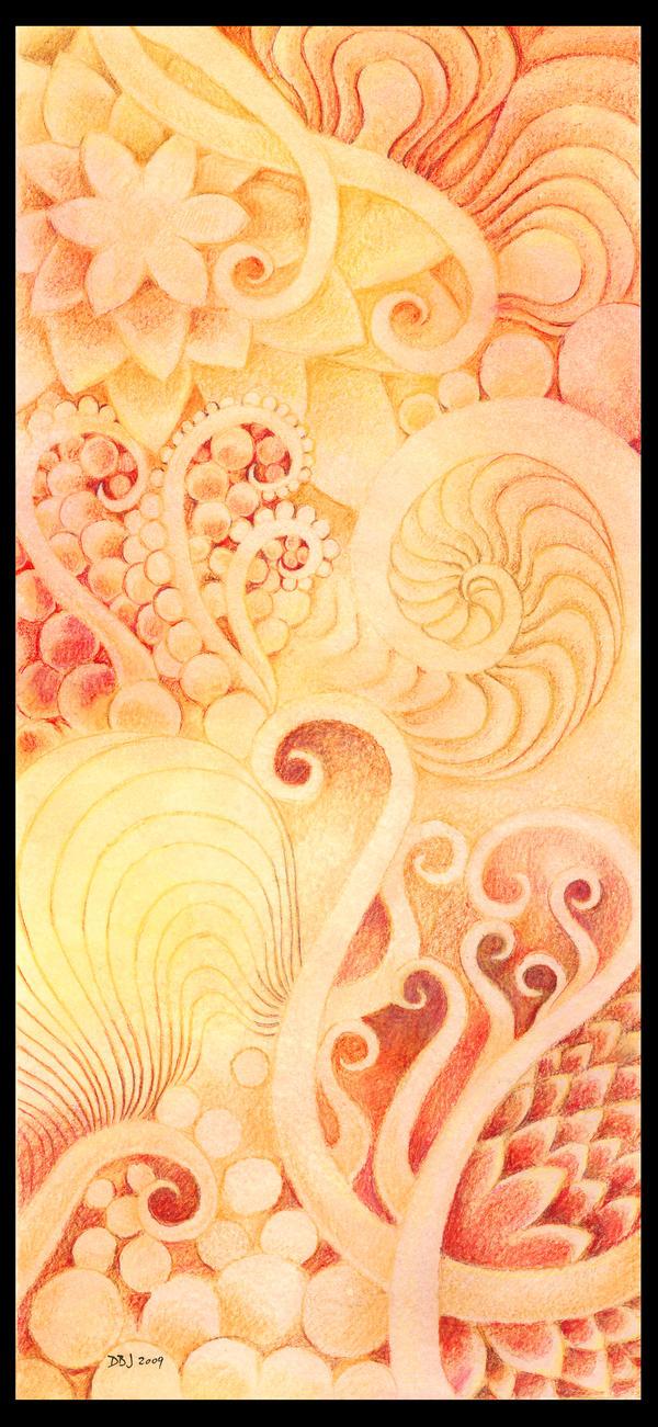 Orange Wallpaper by FamiliarOddlings