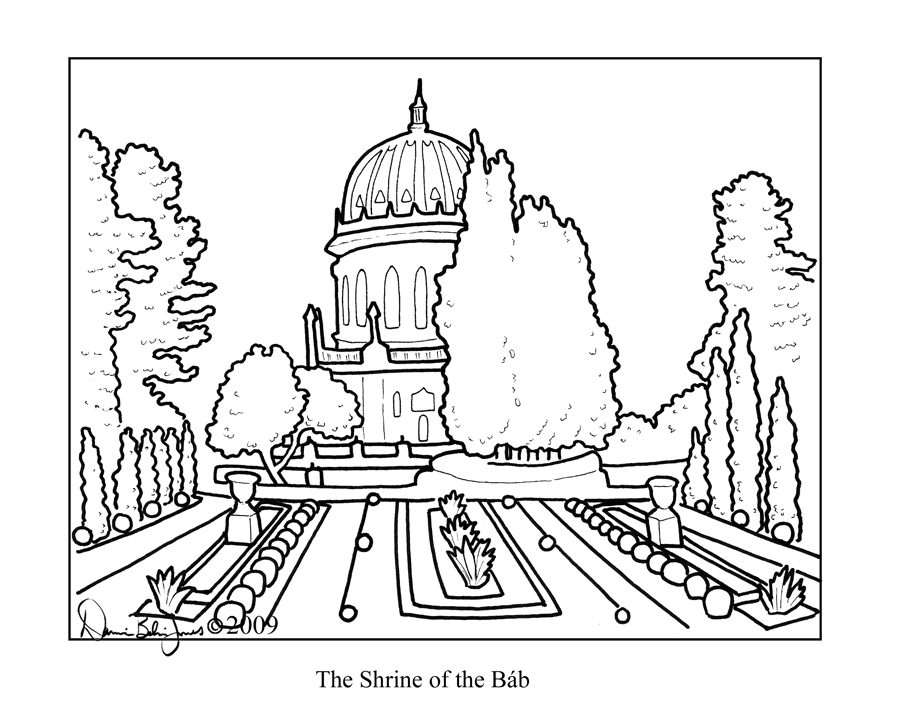 Baha\'i Coloring Book by FamiliarOddlings on DeviantArt