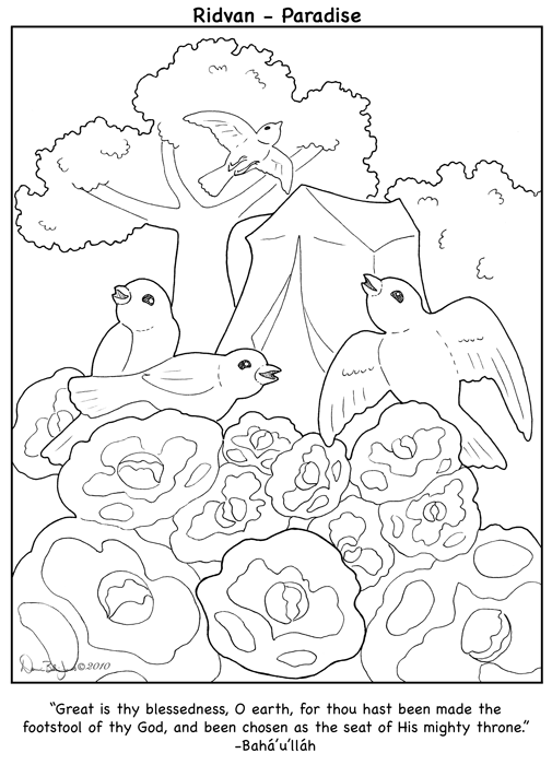 ridvan coloring pages - photo#1