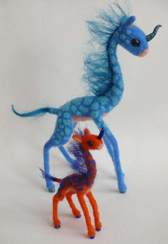 Mini Kirin by FamiliarOddlings