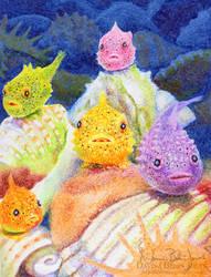 Lumpsucker Fish by FamiliarOddlings