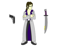 Issac Cannon: Vector Draft by Animasword