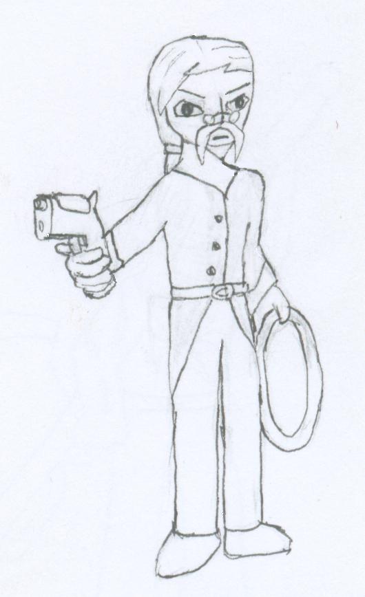 Character Challenge: Hudson by Animasword