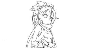 Felt (Feruto) From Re:Zero (Digital Drawing 1St)