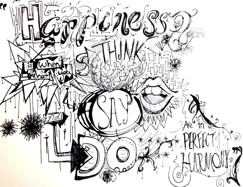 Happiness by awkwardSHEEP