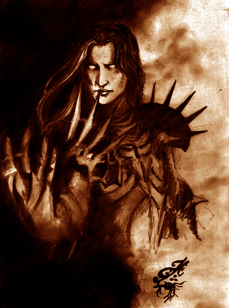 Sauron the Deceiver by Skullbastard