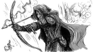 thief sketch by Skullbastard