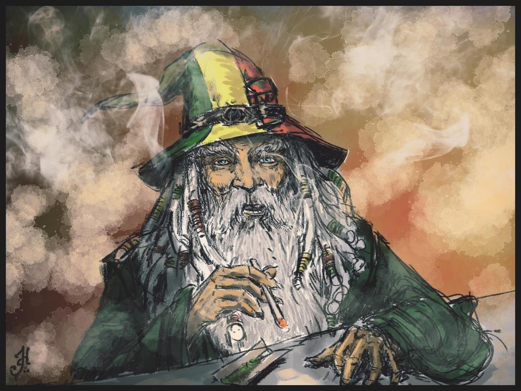 Ganjalf The Green by Skullbastard