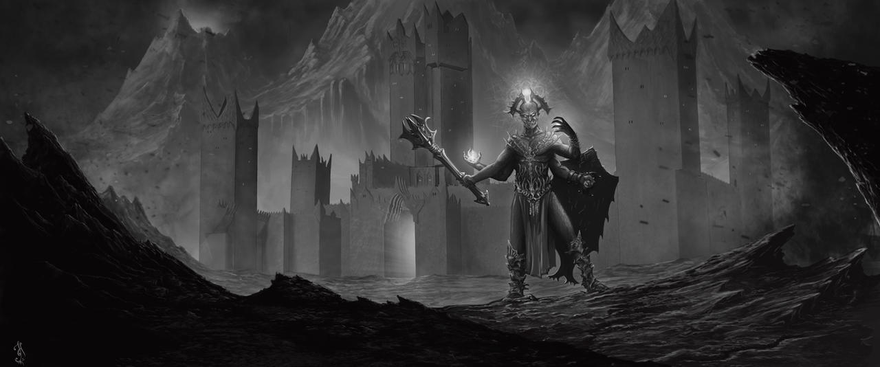 Then Morgoth came by Skullbastard