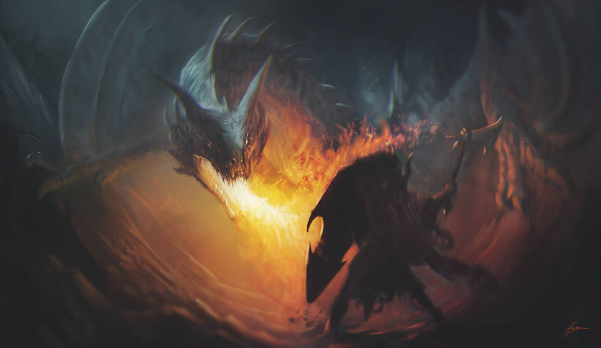 Dragonslayer by Skullbastard