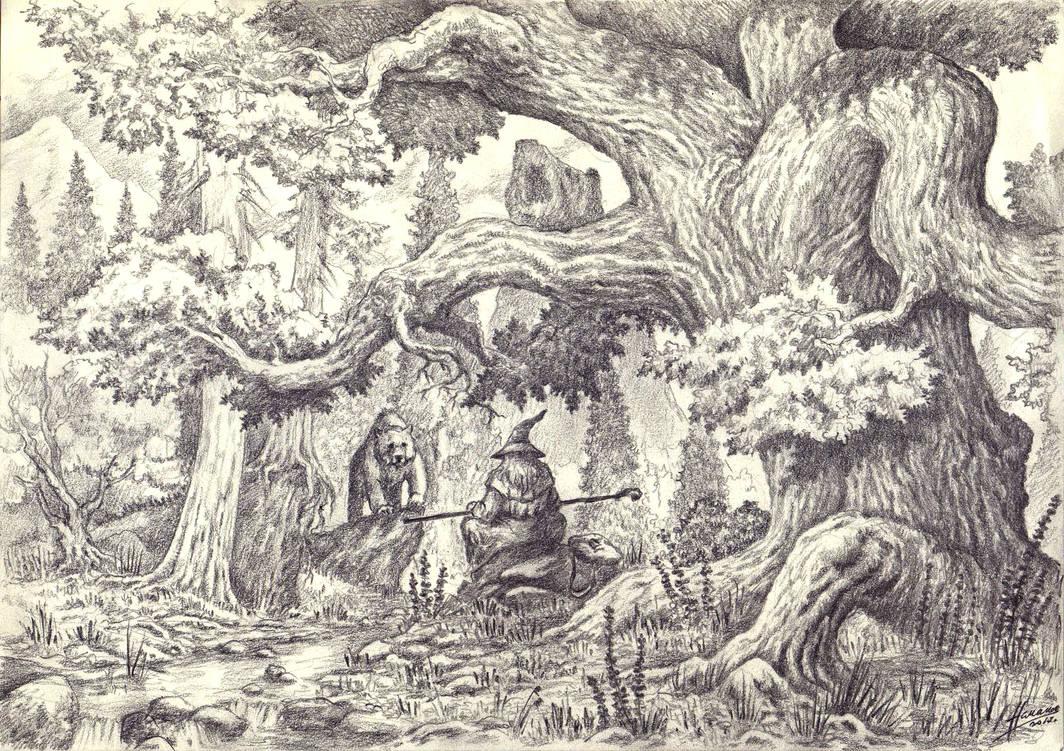 Meeting at Carrock by Skullbastard