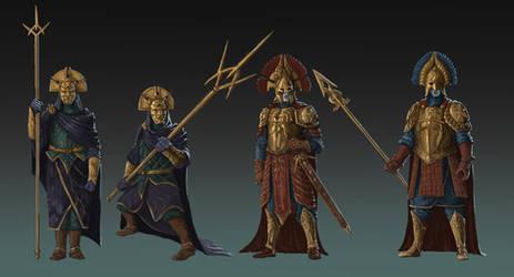 Black Numenoreans - Guards by Skullbastard