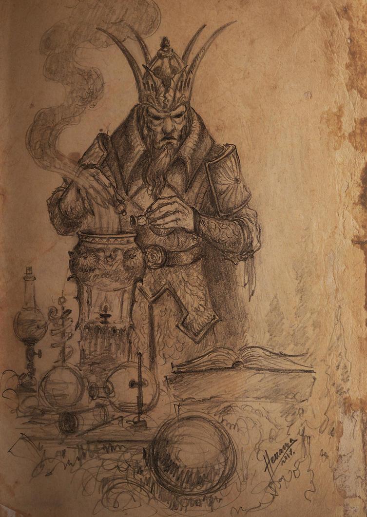 Witch-king by Skullbastard