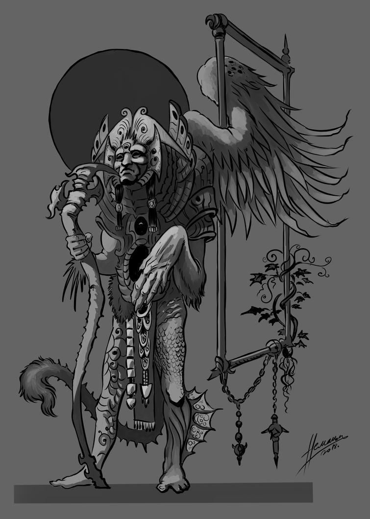 Shaman Shapeshifter by Skullbastard