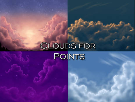 Cloud Backgrounds for Points