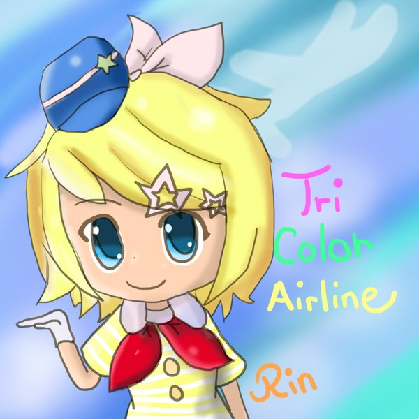 Tri Color Airline Rin by SunnyChiso