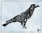 Quranic Calligraphy - Crow