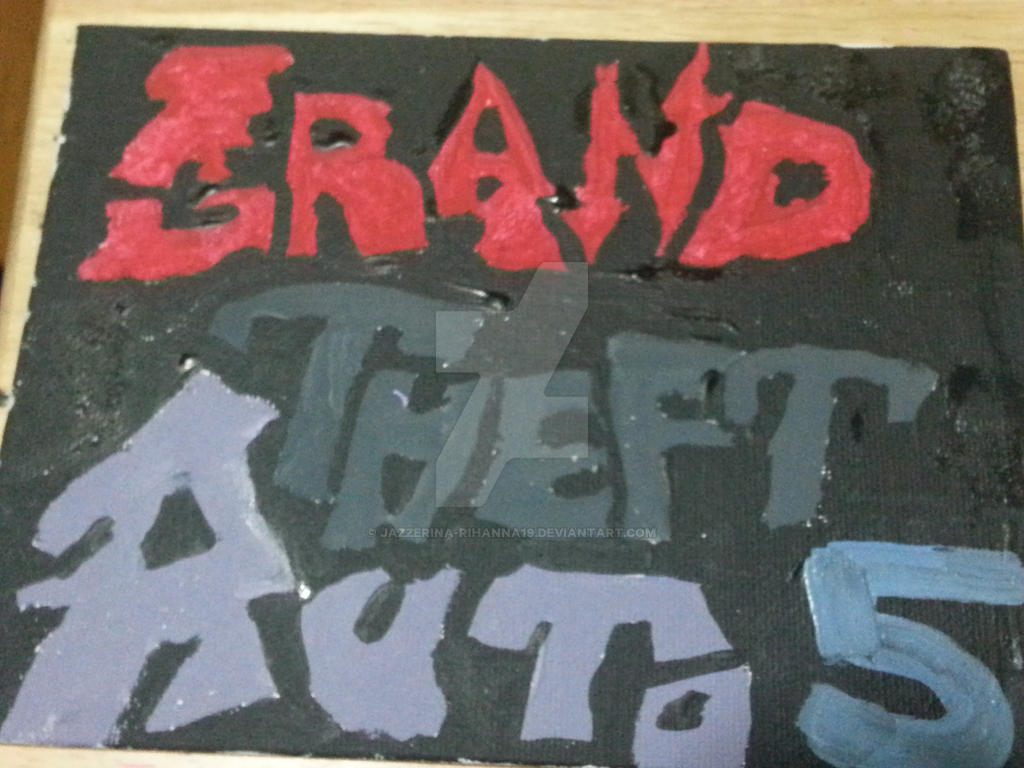 gta 5 graffiti different colors by Jazzerina-Rihanna19