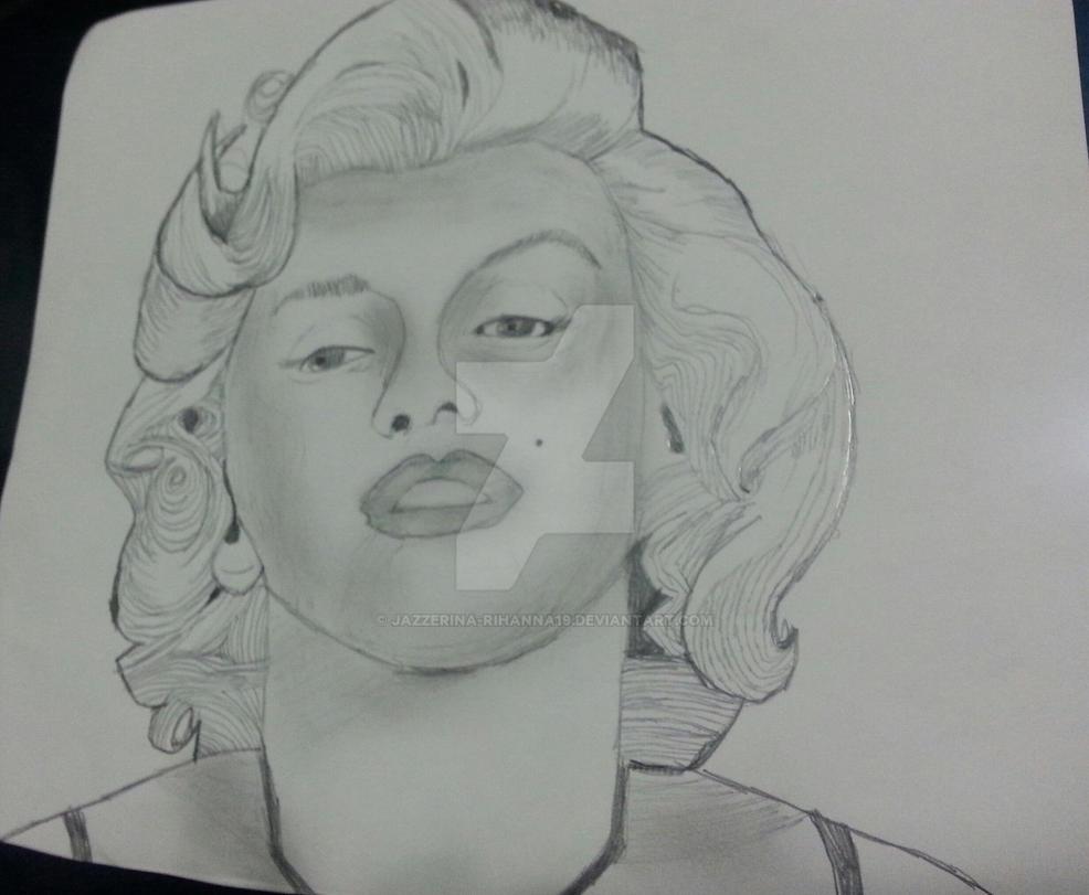 marlyn Monroe by Jazzerina-Rihanna19