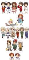 Hetalia Fan Art by swa-oku
