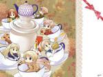 Hetalia Fan Art - Samovar Teatime by swa-oku
