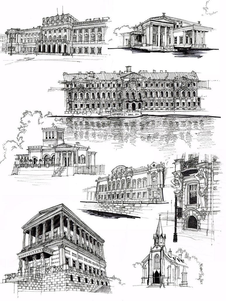 Andrei Stackenschneider sketches by Andette