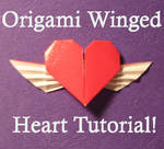 Origami Winged Heart Tut