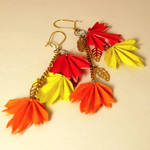 Cascading Autumn Earrings