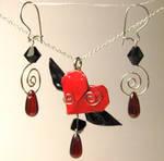 Crimson Winged Heart Set