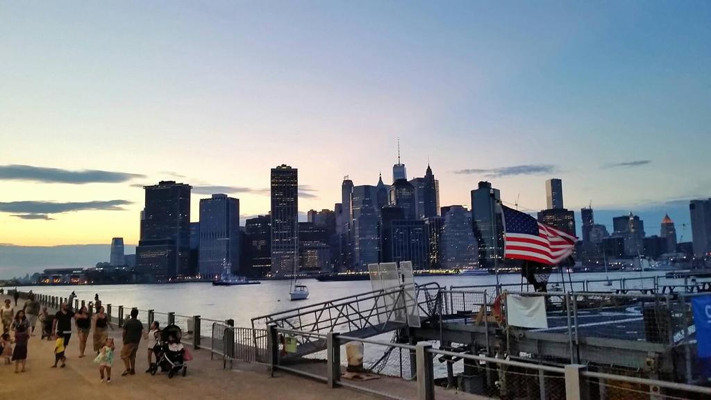 Sunset Over Manhattan by pandacub143