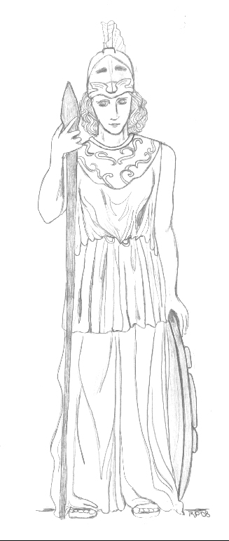 Pallas Athena by PheobeMeryll