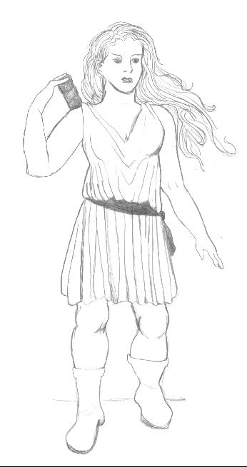 Artemis, goddess of the hunt by PheobeMeryll